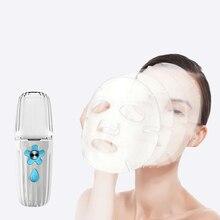 35ML Mini Water Sprayer USB Nano Spray Injector Facial Skin Moisturizing Rejuvenating Deep Hydrating Beauty Device Makeup Tool