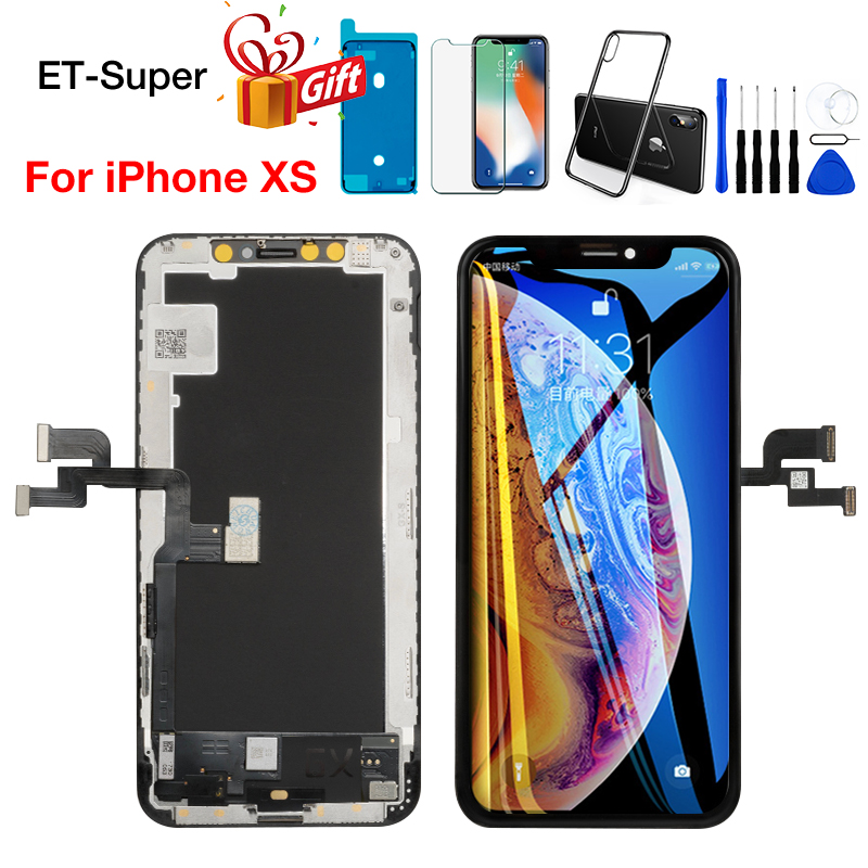 Tianma Incell LCD Screen for iPhone XS Display Digitizer Assembly 100% Working No Dead Pixel Grade AAA+++ TFT Replacement Parts(China)