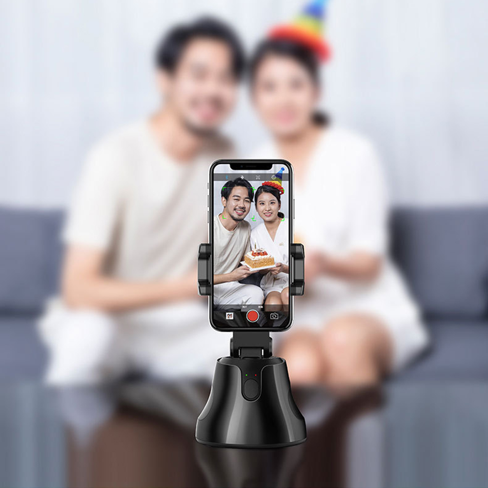 Newest 360° Rotation Auto Face Tracking Object Tracking Camera Phone Holder Portable All-in-one Auto Smart Shooting Selfie Stick