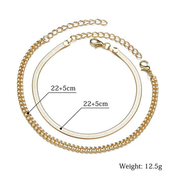 Modyle Anklets for Women Foot Accessorie Summer Beach Barefoot Sandals Bracelet ankle on the leg Female Ankle gifts for women 3