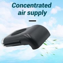 Universal 5V Car Front Seat Cooling Fan USB 3 Speeds Exhaust Air Ventilated Fan