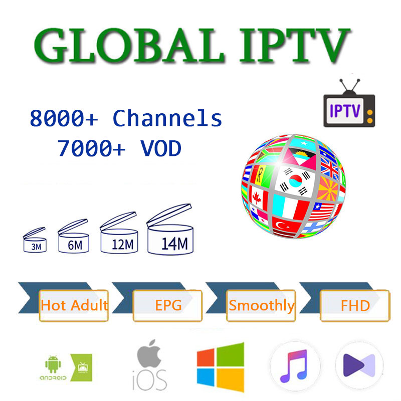 8000+ Europe  Spanish IPTV M3U Live Iptv Subscription USA UK French  Sweden For Android Iptv M3u Enigma2 TV Box Adult XXX X96 Xx