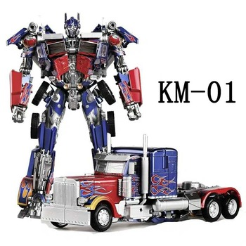 Deformation Robot Transformers Alloy Autobot LS-03 Metal Autobot Car Optimus Prime KM01 MPM04 Transformation Model Toy 2
