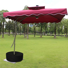 Base Tent BEACH-SHELTER-TOOL Outdoor-Umbrella Stand Durable Weight Black Sand-Bag Oxford-Cloth