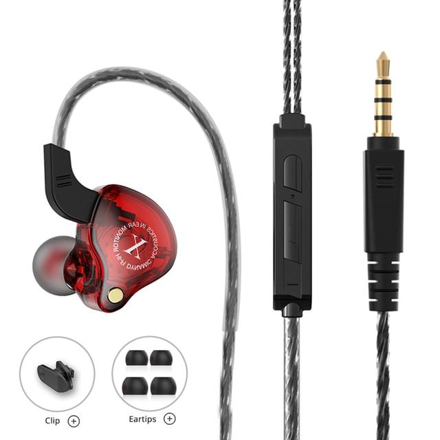 Sport Wired Headphones Running Earphone Computer Earphones Gamer Headset Handsfree Earbuds for Redmi Umidigi F2 MP3 audifonos 2