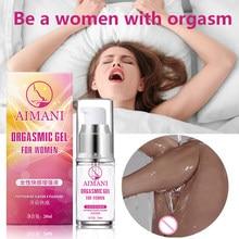 Gel lubrifiant pour orgasme vaginal féminin, 20ml, stimulateur de Libido, aphrodisiaque, augmente la stimulation sexuelle du corps, amour, lubrifiant sexuel, 18 +