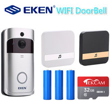 Умный ip звонок v5 с wi fi видеодомофон дверной камера для квартир