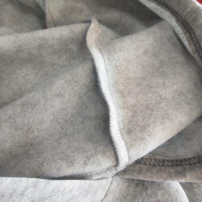 2020 Autumn Print Heart Paw Women's Hooded Sweatshirts 5