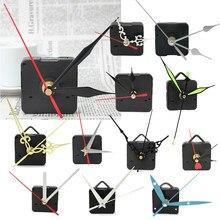 Mécanisme de mouvement d'horloge murale à Quartz, bricolage, avec aiguilles noires, rouges, flèches, pièces de réparation, Kit d'outils, horlogerie