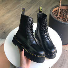 2009 New English Muffin Thick Base Lace Shoe Student Korean Version Baitao Martin Boots Girl