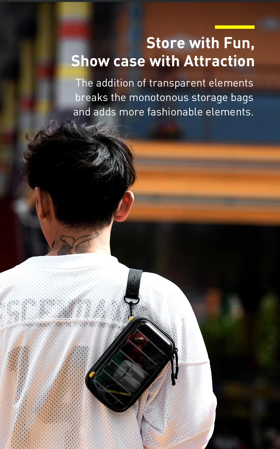 Baseus Hermit Shockproof Storage Bag 6