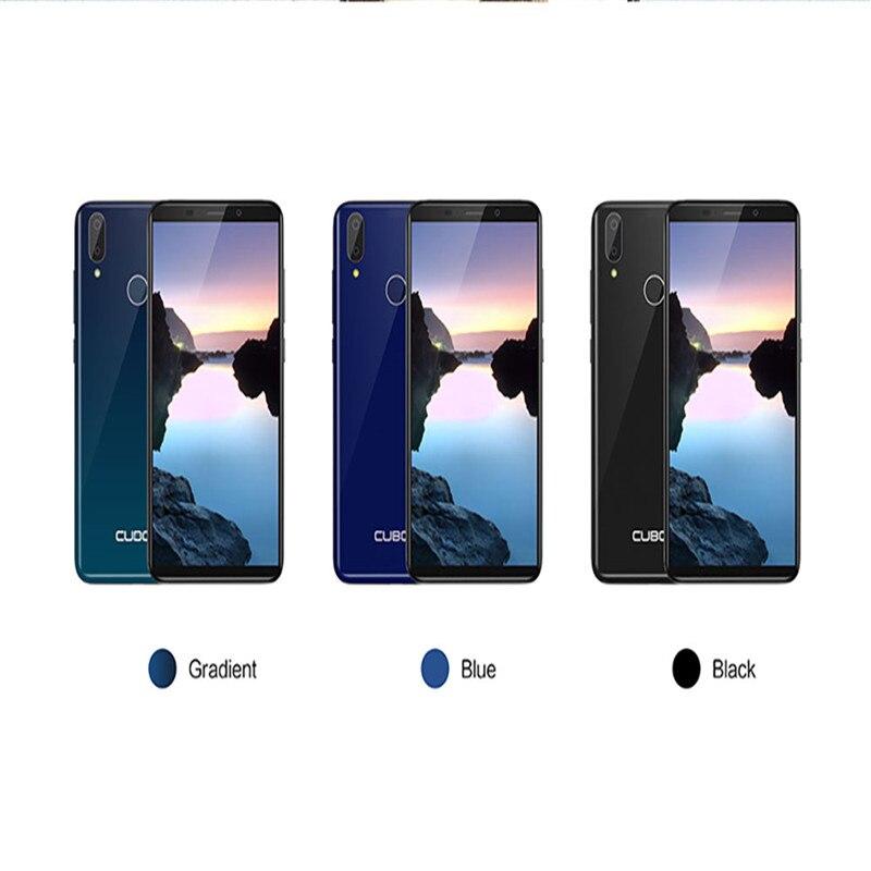 Cubot J7, 5,7 дюймов, 18:9 экран, Android 9,0, смартфон, MT6580, четыре ядра, 2800 мАч, для распознавания лица, отпечатков пальцев, две sim карты, мобильный телефон - 6