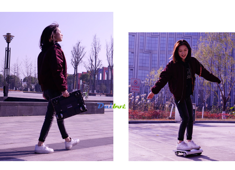Adult Electric Notebook Scooter Four Wheels Self Balancing Scooter Walk Car Portable Electric Scooter With APPBluetooth (10)