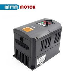 Image 4 - Variador de frecuencia CNC 4KW, inversor VFD 4HP 18A VSD 220V o 380V, control de velocidad del motor para fresado CNC