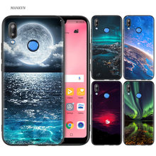 Black Silicone Case Cover for Huawei P30 P20 P10 P9 Mate 10 20 Lite 2017 Note 5 5i Pro P Smart Plus 2019 Shell Colorful Nature(China)