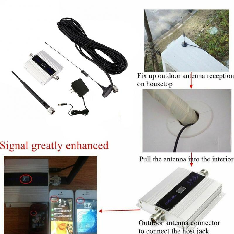 Booster Antenna Repeater Amplifier Cell-Phone Celular 900mhz GSM for 3G 3G/4G