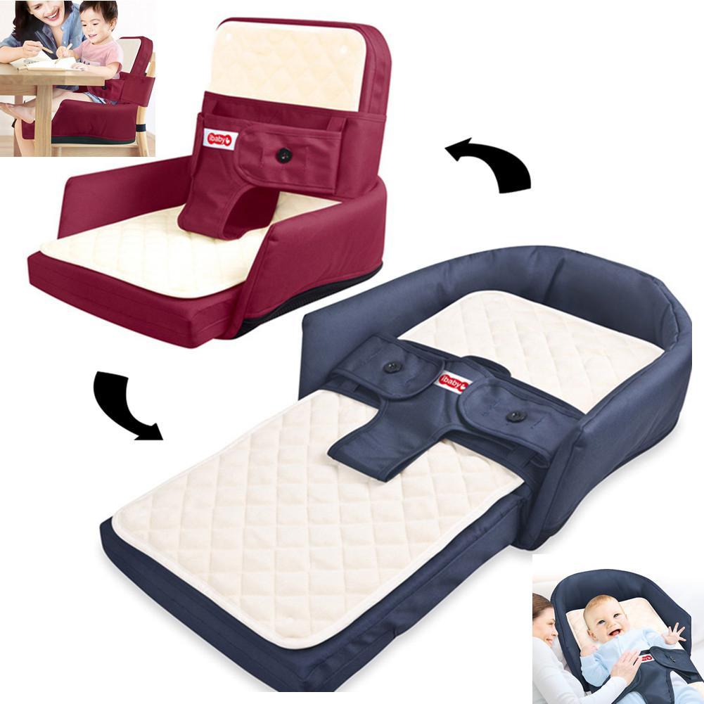 Kidlove Baby Foldable Bed Travel Bassinet Multi-function As Diaper Bag Newborn Carrier Infant Folding Crib