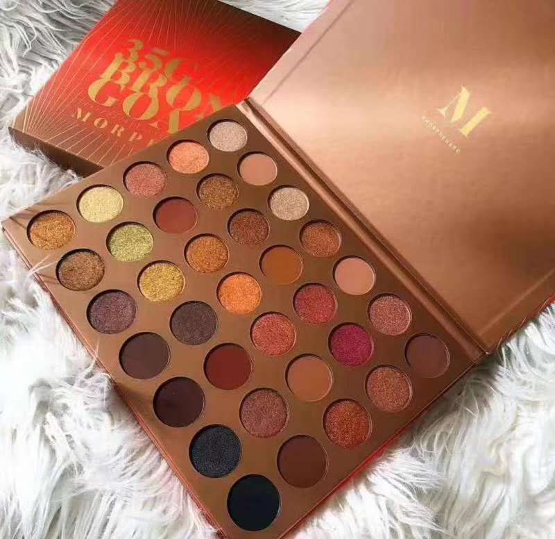 Eyeshadow Palette Matte Earth Color New Morphes 35G Eyeshadow Palette Matte Morphe35 Color Eyeshadow