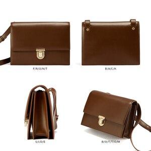 Image 5 - EMINI HAUS Vorhängeschloss Umhängetaschen Für Frauen Luxus Handtaschen Frauen Taschen Designer Split Leder Frauen Umhängetasche Damen Geldbörse
