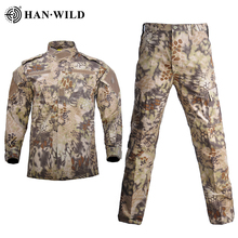 Pants Suits Jacket Multicam Military-Uniform Combat Camouflage Training Cargo Security