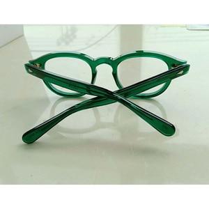 Image 4 - สีเขียวJohnny Deppแว่นตาผู้หญิงAcetate Retro Presbyopic Diopter + 1.0 + 1.5 + 2.0 + 2.5 + 3.0 + 3.5 + 4.0 Handmade