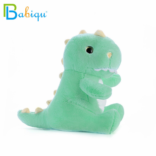 1pc 25/35cm Cartoon Soft Big Teeth Dinosaur Plush Toys for Children Cute Animal Doll for Kids Creative Birthday Christmas Gift