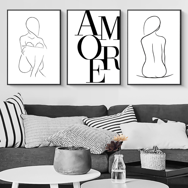 Sexy Woman Body Poster Print Get Naked Quotes Canvas Painting Modern Abstract Minimalist Art For Living Bathroom Home Decoration Buy At The Price Of 1 69 In Aliexpress Com Imall Com