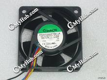 For SUNON PSD1206PTB1-A (2).U.B3667.F.GN DC12V 3.6W 6025 6CM 60mm 60x60x25mm 4pin Cooling Fan(China)