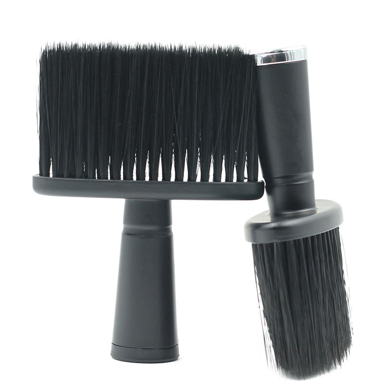 Soft Hair Cleaning Brush Neck Face Duster Beard Brushes Barber Hair Cutting Cleaning Brush Salon Hairdressing Styling Tools
