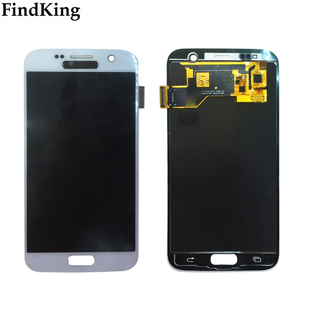 AMOLED LCD Display For Samsung Galaxy S7 G930 G930A G930F SM G930F LCD Display Touch Screen Assembly Digitizer Panel Tools