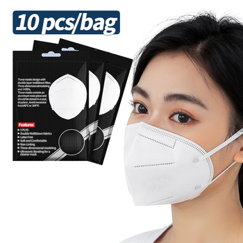 In Stock! 99% Filter mask Mask Mascherine Respirator Prevent Saliva Face Mask With Elastic Band Fast delivery
