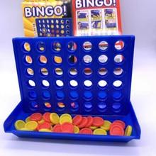 Импортные товары, новые детские игрушки из четырех частей, игра родитель-ребенок, трехмерная игра из пяти частей, четыре линии, шахматы, бинго