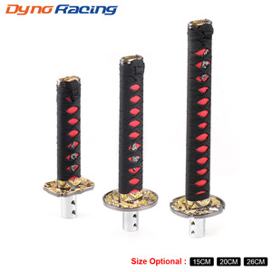 Universal 150MM/200MM/260MM JDM Katana Samurai Sword Shift Knob Shifter With Adapters Gear Shift knob