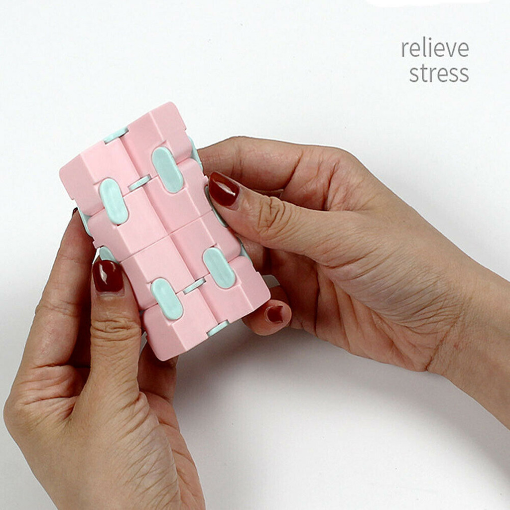 Toy Cube-Blocks Infinity-Cube Stress-Relief EDC Best-Gift Anxiety Finger for Children img5