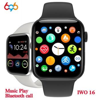 IWO16 V8pro Smart Watch Fitness tracker Bluetooth Call Heart rate monitoring band Waterproof Bracelet Smartwatch PK IWO 10 11 12