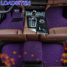 Accessory Accessories Styling Protector Parts Decorative Modification Mouldings Automovil Car Carpet Floor Mats FOR Skoda Superb