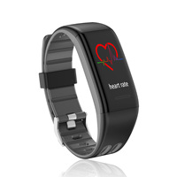 T30 Color Screen Smart Bracelet Sports Step Count Bluetooth Customizable Watch Heart Rate Blood Pressure Foreign Trade Gift Watc