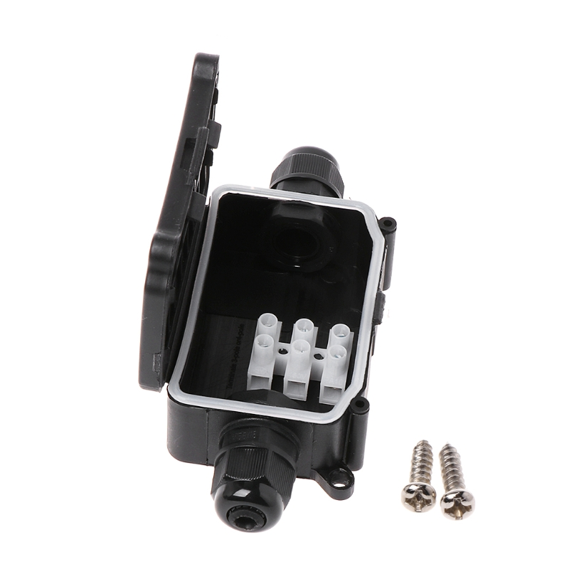 2/3Way IP66 Outdoor Waterproof Cable Connector Junction Box With Terminal 450V Y98E