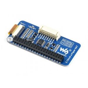 Image 3 - 2.13 インチ電子ペーパー帽子 250 × 122 2.13 インチ電子インクディスプレイラズベリーパイ 3B/2B/ゼロ/ゼロワット spi インターフェースは、部分的なリフレッシュ