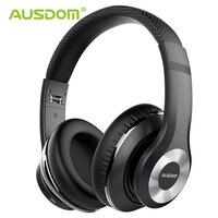 Ausdom ANC10 Active Noise Cancelling Bluetooth Wireless Headphones Foldable 20H Play time Hifi Deep Bass Bluetooth Headset