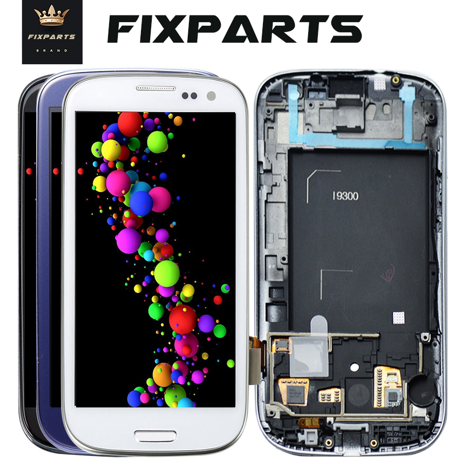 Tested For SAMSUNG Galaxy S3 LCD Display i9300 Touch Screen Digitizer Replacement For SAMSUNG Galaxy S3 Mini i8190 LCD Screen image