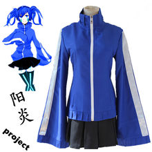 MekakuCity Acteurs Kagerou Project Enomoto Takane Ene Kostuums Cosplay School Uniform Halloween Kostuums dame mooie rok(China)