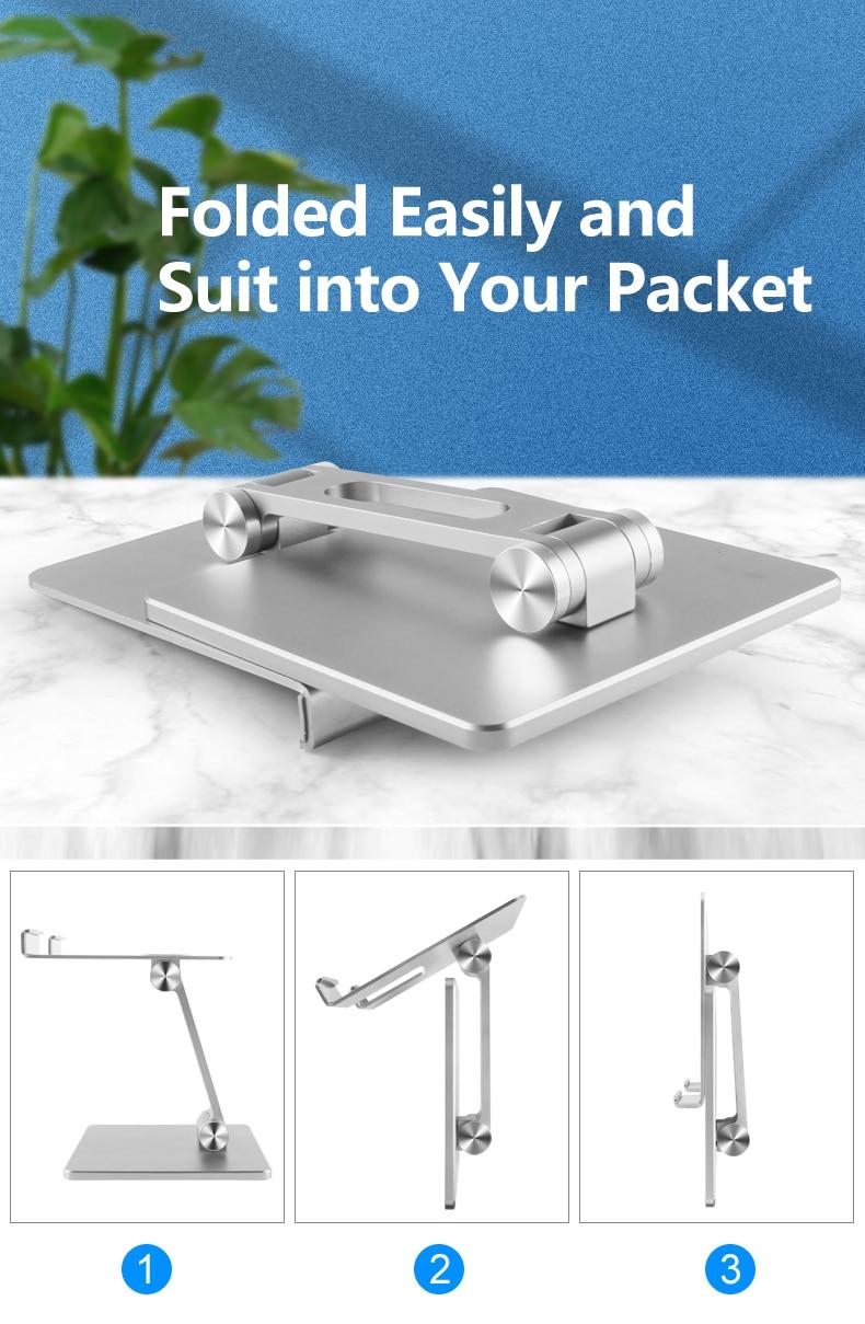 Tablet Stand Adjustable Folding Holder