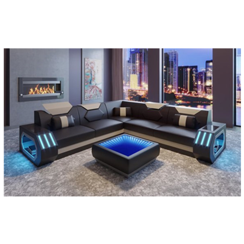 new arrival luxury design leather sofa living room sofas 3