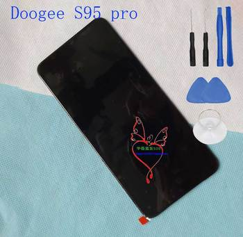 Original Doogee S95 Pro Front Panel Touch Glass Digitizer Screen with LCD display for doogee S95 pro Phone
