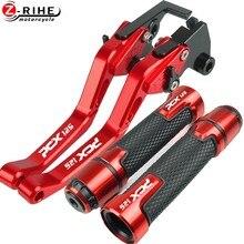 Palancas de embrague de freno y empuñaduras ajustables para motocicleta, accesorios de alta calidad para HONDA PCX 125, PCX125, todos los años
