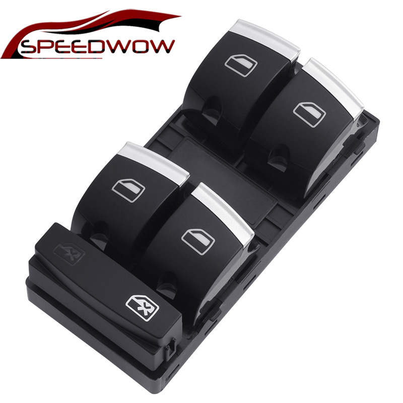 1Pcs New Power Window Control Switch Passenger Side For Audi A3 S3 A6 S6 Q7