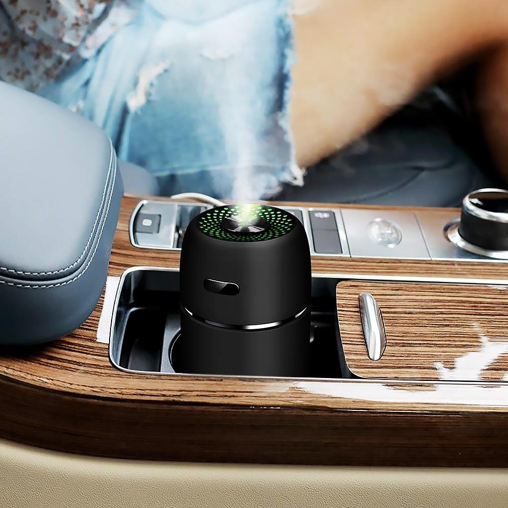 200ml USB Mini Air Humidifier Car Aroma Essential Oil Diffuser Home USB Fogger Mist Maker LED Night Lamp Accessories