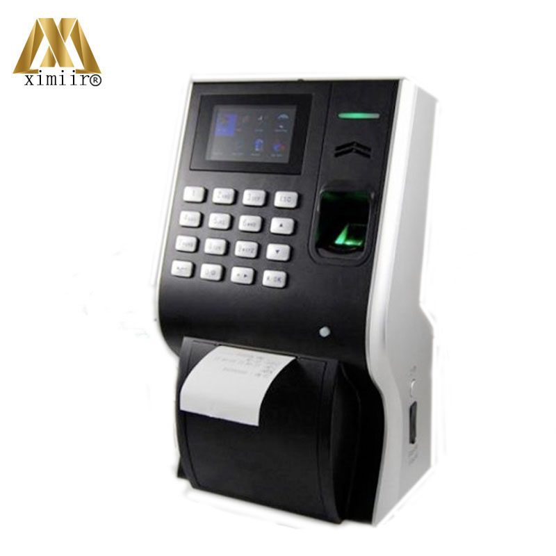 Good Quality LP400 Fingerprint Time Attendance 125KHz RFID Card Thermal Printer Employtee Attendance System