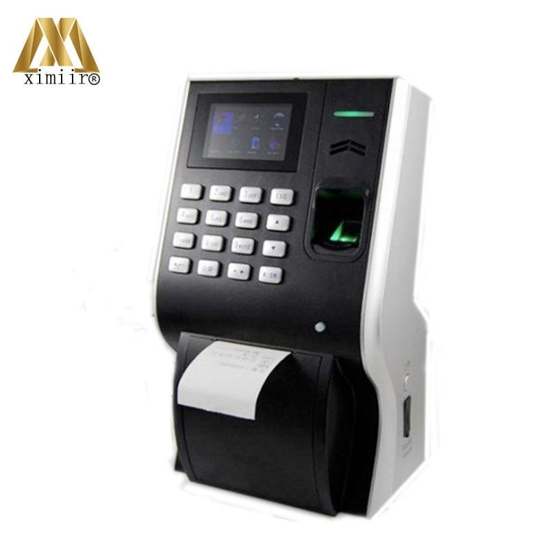 Good Quality LP400 Fingerprint Time Attendance 125KHz RFID Card Thermal Printer Employtee Attendance System